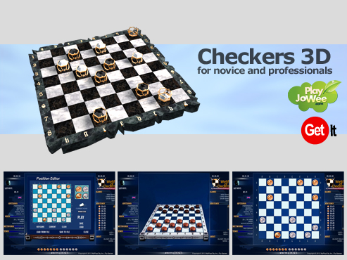 World of Checkers 3D free